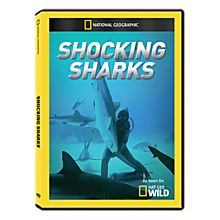 Shocking Sharks DVD-R