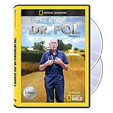 The Incredible Dr. Pol Season Three 2-DVD-R Set, 2013