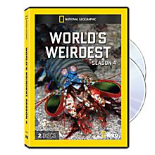 World's Weirdest Season Four DVD-R