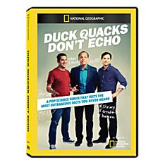 Duck Quacks don't Echo DVD-R, 2014