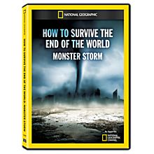 How To Survive The End Of The World: Monster Storm DVD-R, 2014