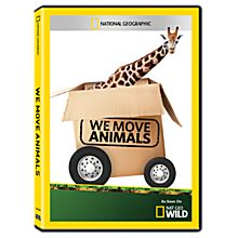 We Move Animals DVD-R, 2014