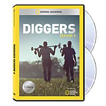 Diggers Season Three DVD-R