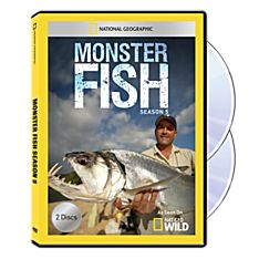 Monster Fish Season Five DVD-R, 2014