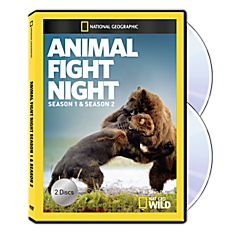 Animal Fight Night Seasons One & Two DVD-R Set