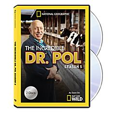 The Incredible Dr. Pol Season Five DVD-R Set, 2014
