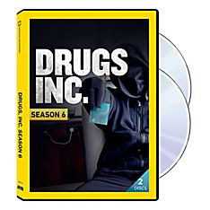 Drugs, Inc. Season Six 2 DVD-R Set, 2014
