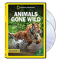 Animals Gone Wild Season Two 2-DVD-R Set, 2015