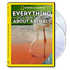 Everything You Didn't Know About Animals 2-DVD-R Set, 2015
