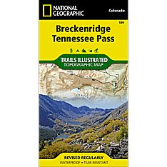109 Breckenridge/Tennessee Pass Trail Map, 2006