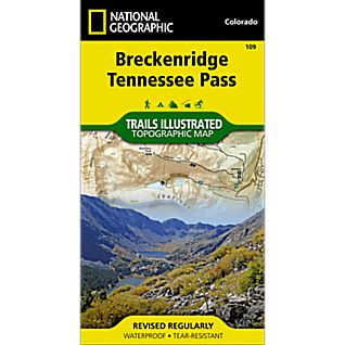 109 Breckenridge, Tennessee Pass Trail Map