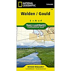 114 Walden/Gould Trail Map, 1996