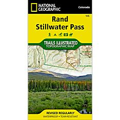 115 Rand/Stillwater Pass Trail Map