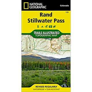 National Geographic Rand/Stillwater Pass Trail Map