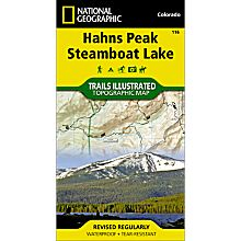 116 Hahns Peak/Steamboat Lake Trail Map, 2007