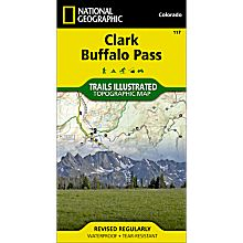 117 Clark/Buffalo Park Trail Map