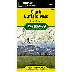 117 Clark/Buffalo Park Trail Map, 2006