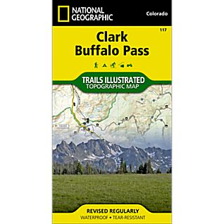 National Geographic Clark/Buffalo Park Trail Map