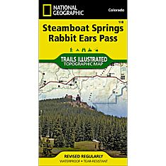 118 Steamboat Springs/Rabbit Ears Pass Trail Map, 2007