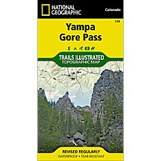 119 Yampa/Gore Pass Trail Map
