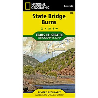 National Geographic State Bridge/Burns Trail Map