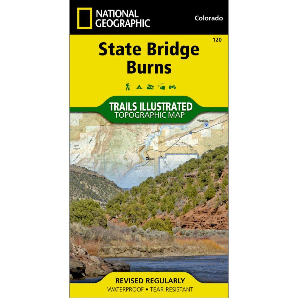 National Geographic State Bridge/Burns Trail Map
