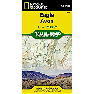 National Geographic Eagle/Avon Trail Map