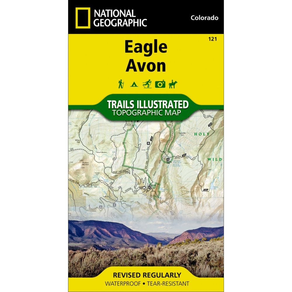 photo: National Geographic Eagle/Avon Trail Map