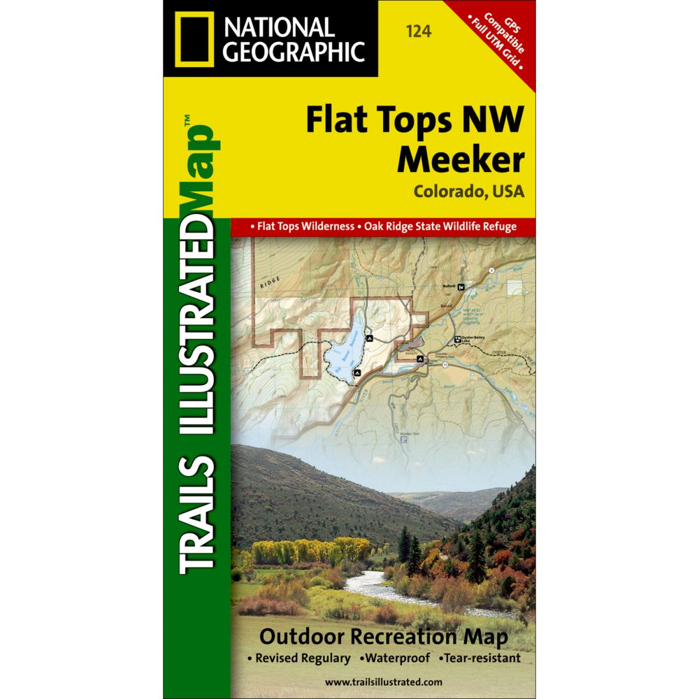 photo: National Geographic Flat Tops NW/Meeker Trail Map