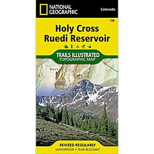 126 Holy Cross, Ruedi Reservoir Trail Map