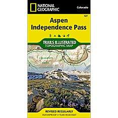 127 Aspen / Independence Pass Trail Map