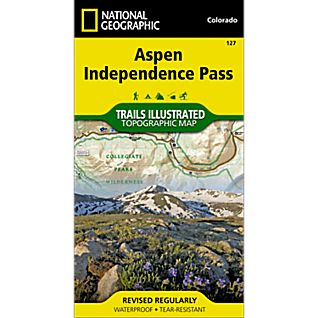 photo: National Geographic Aspen/Independence Pass Trail Map