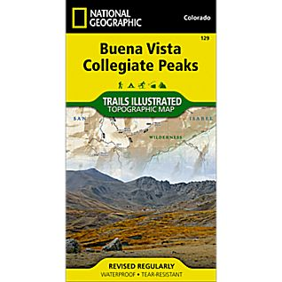 129 Buena Vista/Collegiate Peaks Trail Map