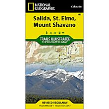 130 Salida/St. Elmo/Shavano Peak Trail Map, 2008