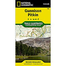 132 Gunnison/Pitkin Trail Hiking Map