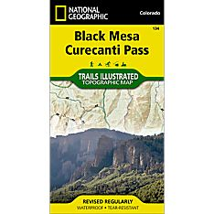 134 Black Mesa/Curecanti Pass Trail Map, 1998