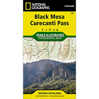 134 Black Mesa/Curecanti Pass Trail Map
