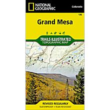 136 Grand Mesa Trail Map, 2006
