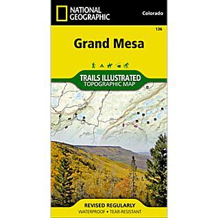 136 Grand Mesa Trail Map