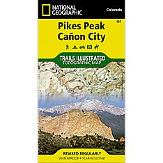 137 Pikes Peak/Canon City Trail Hiking Map