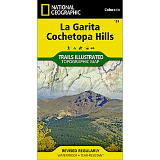 National Geographic La Garita/Cochetopa Hills Trail Map