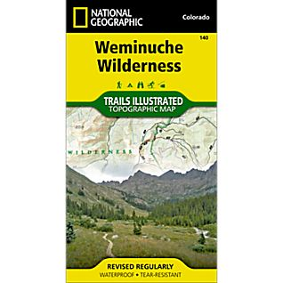 View 140 Weminuche Wilderness Trail Map image