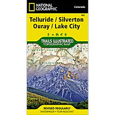 141 Silverton/Ouray/Telluride/Lake City Trail Map, 2010