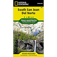 142 South San Juan/Del Norte Trail Map, 2008