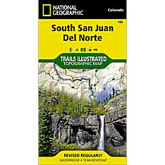 142 South San Juan, Del Norte Trail Map