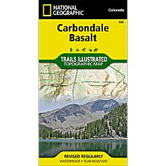 143 Carbondale/Basalt Trails Travel and Hiking Map