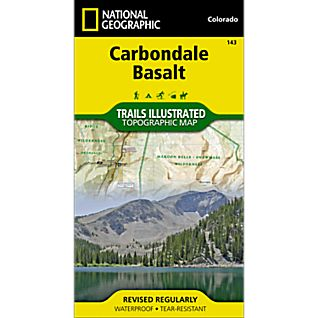 National Geographic Carbondale/Basalt Trails Map