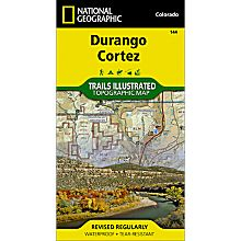 144 Durango/Cortez Trail Hiking Map