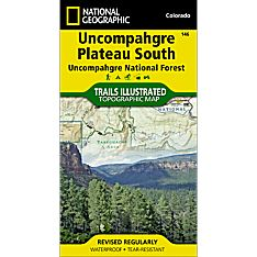 146 Uncompahgre Plateau, South Trail Map, 2011