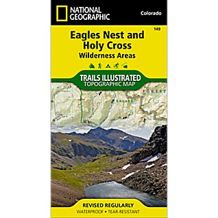 National Geographic Holy Cross / Eagles Nest Wilderness Trail Map